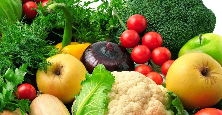 frugt og grøntsager