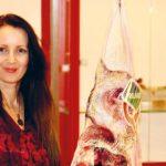 Kunst med kød på
